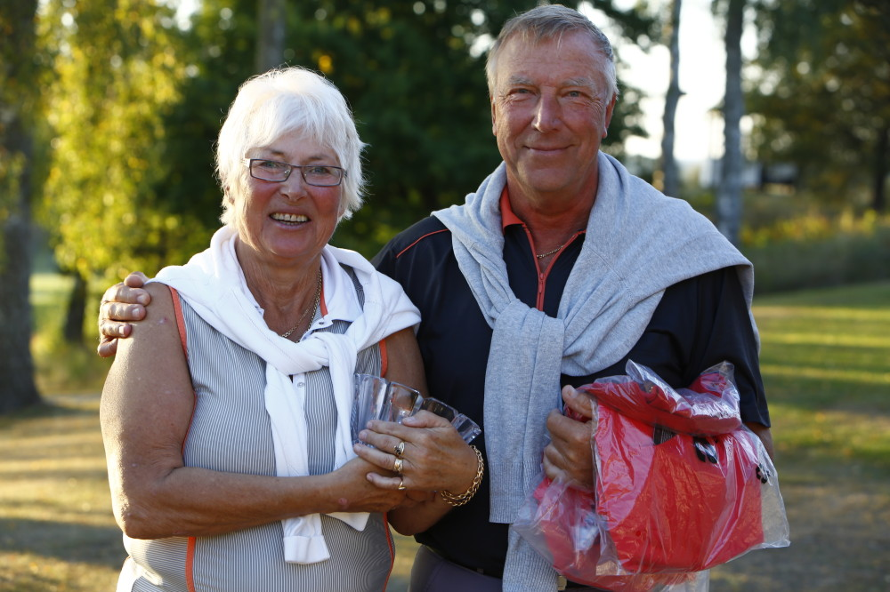 Vinnare Evy och Stig Sehlin, 44 poäng
