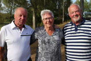 Vinnare - Leif Halth, Kerstin Eriksson och Fredén