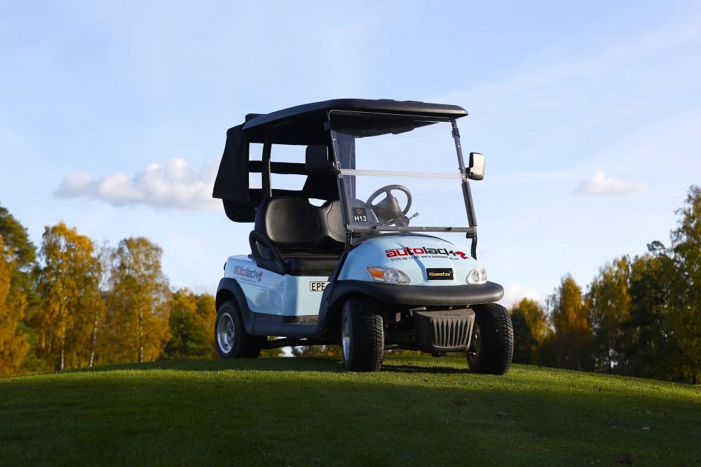 _C8A8025 Golfbil Buggy Bla