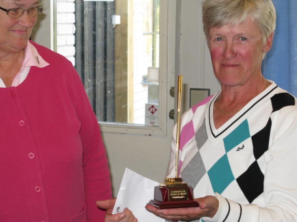 2009 - Vinnare Order of Merit damer - Maja-Stina Hansson