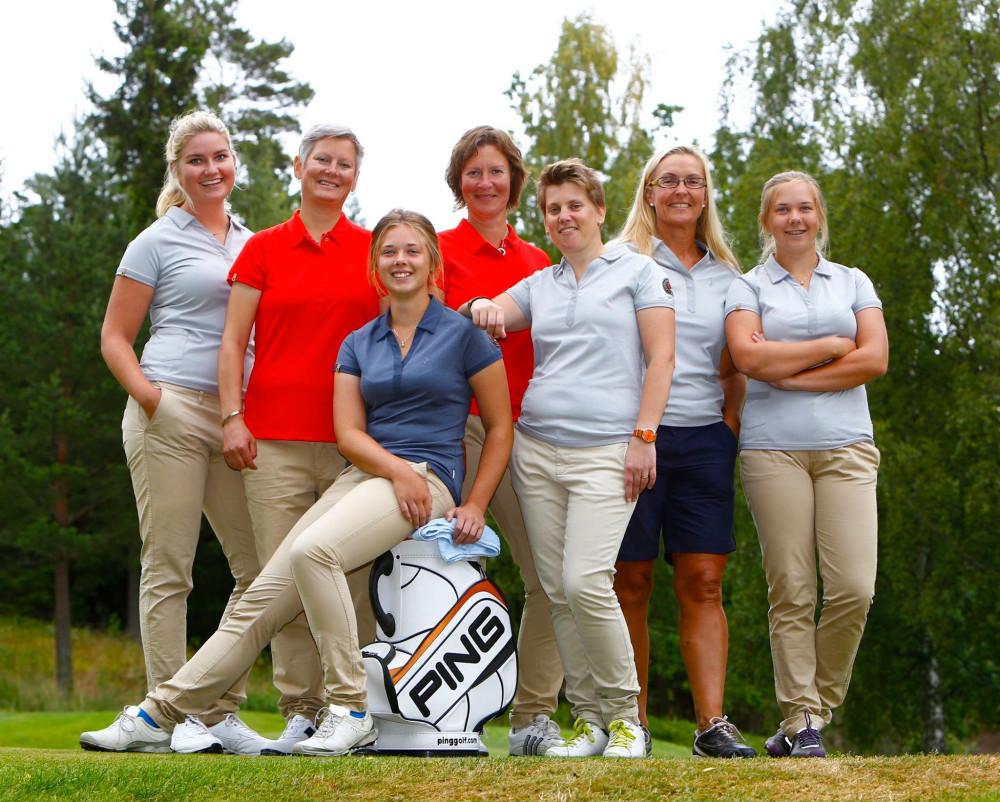 Damelit - Alexandra Lennartsson, Malin Landehag, Erika Andersson, Susanne Hörnfeldt, Anna Erixon, Susann Borg och Emma Andersson