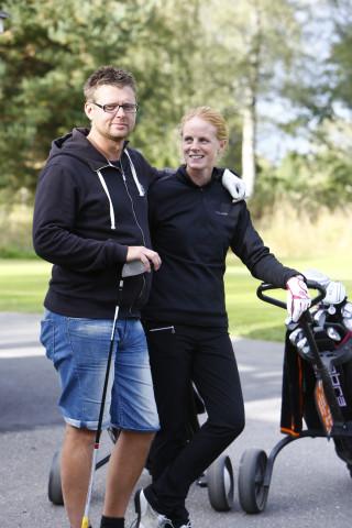 Robert Rimblad och Emma Andersson