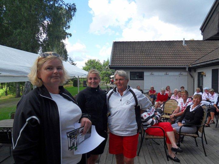Vinnare  Kerstin och Ida Åkvist