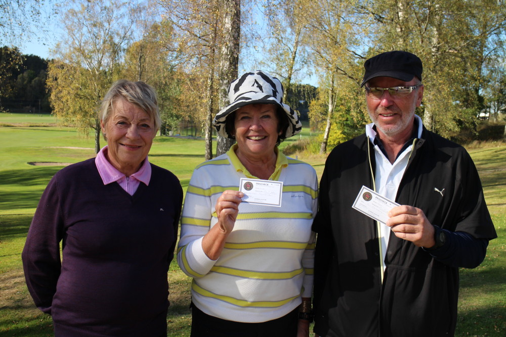 2a Agneta Kumlin, Gunnel Thunström och Jan Norberg, 59,8, SHCP 10,2