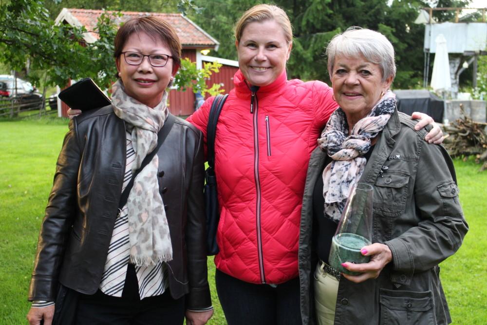 Tävlingen spelades i tre klasser. Vinnare Connie Tidlund, Annika Sundqvist och Marie-Louise Pierrou.