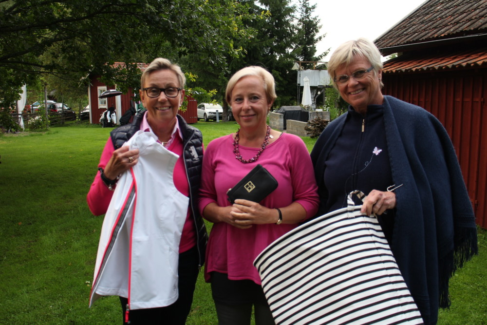 Andra plats: Eva Asthage, Ewa Rylander och Inger Reuterwall.