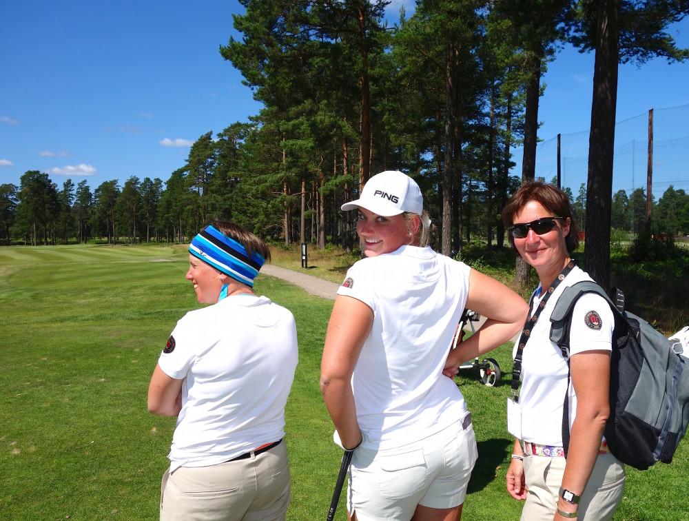 Anna Erixon, Alexandra Lennartsson och Susanne Hörnfeldt