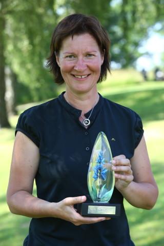 Susanne Hörnfeldt fick ta emot vandringspriset som familjen Bergström instiftat