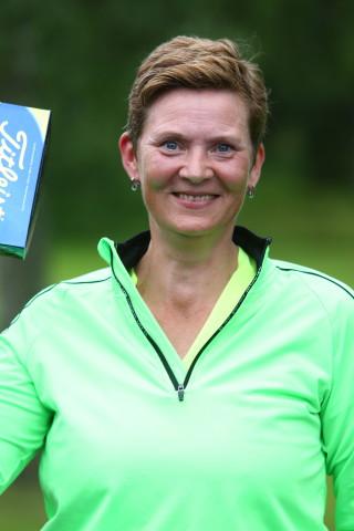 Gisela Andersson vann närmast hål