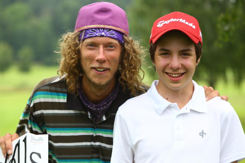 1a - Johan Bergvall och Arvid Rylander, 46 poäng, SHCP 9. Dagens lägsta hcp.