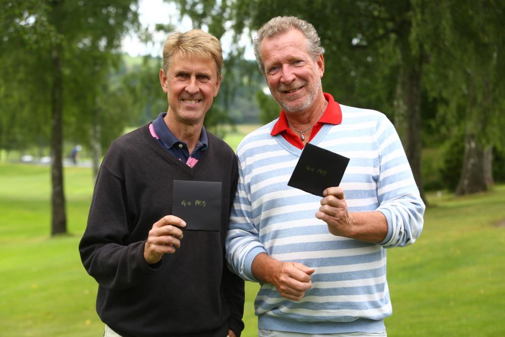 4a - Lennart Andersson och Erik Seger, 45 poäng, SHCP 46