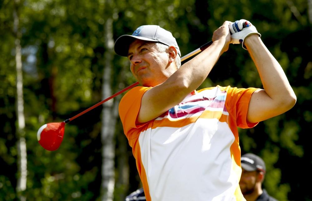 Mats Hallberg, känd från ViaSat Golf som kommentator, är medlem hos oss. Bli det du också!
