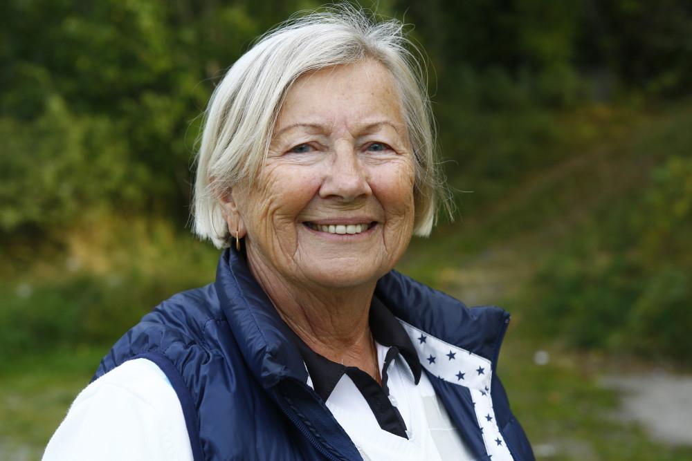 Anita Ax, Vidbynäs GK, kom fyra tillsammans med