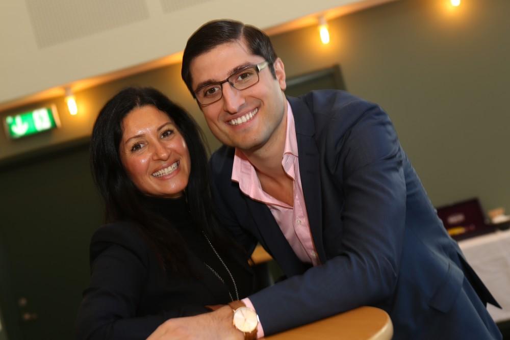 Nevenka Billemark, hotellchef och George Glor, restaurangchef tog väl hand om oss gäster.