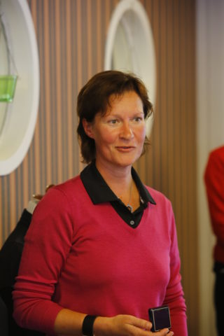 Susanne Hörnfeldt höll ett mycket fint och personligt tacktal.