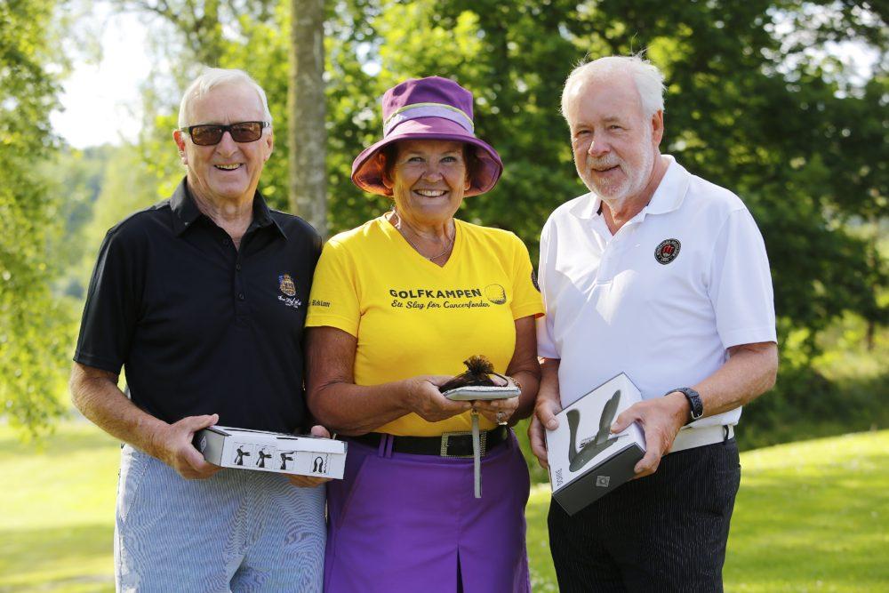 2016-06-28 Gunnel Thunström kom trea i Damklassen vid SPF-Golfen på Nyköpings GK. Jag vann också brutto för damer.