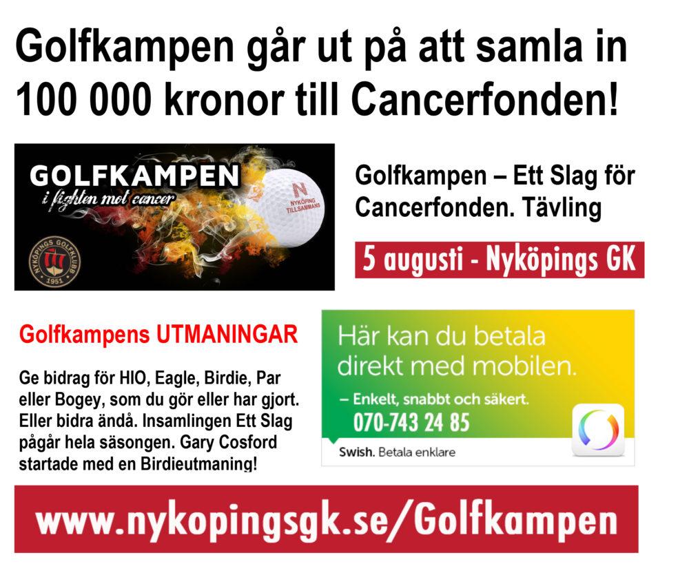 GOLFKAMPEN - Kortinfo