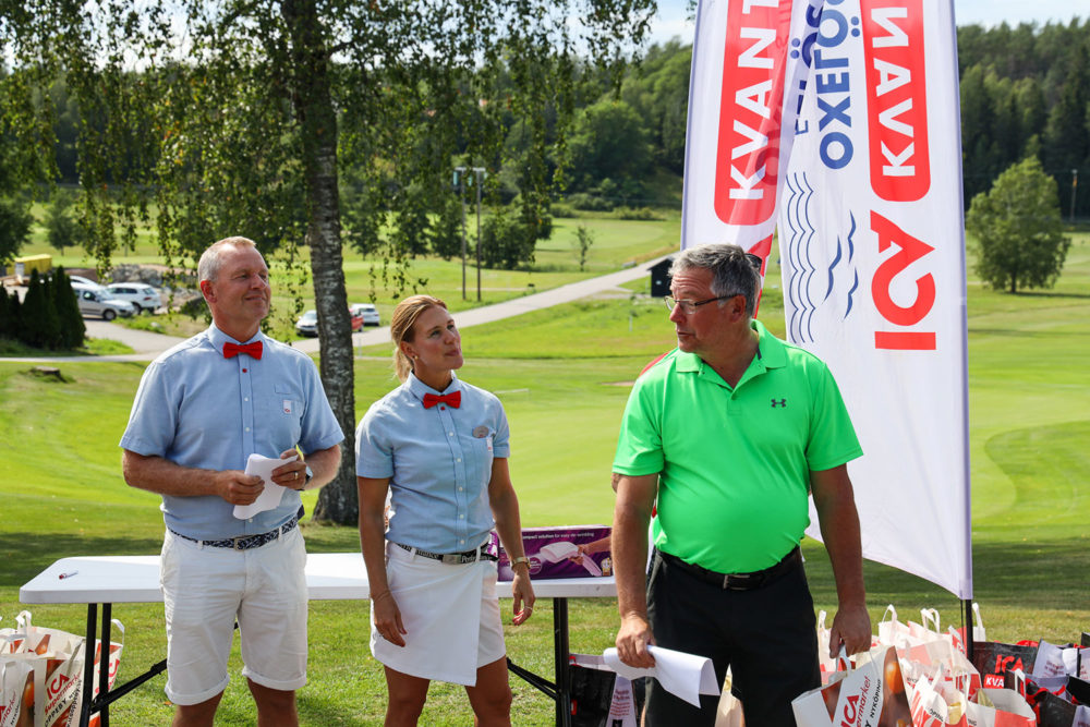 Vinnare B-klassen, Ica-golfen