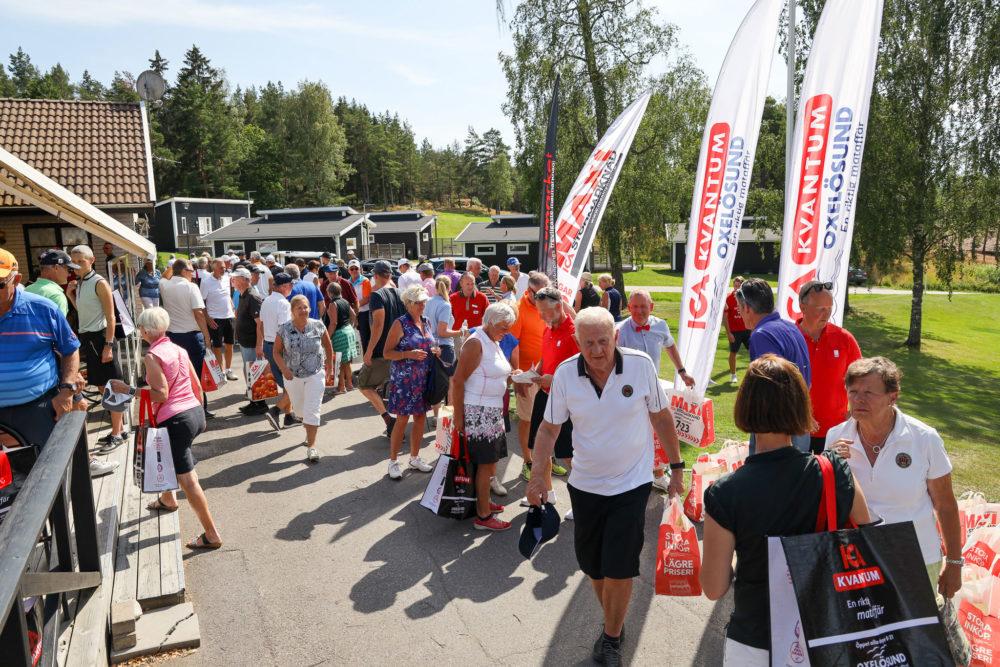 Prisutdelning Ica-golfen 2019