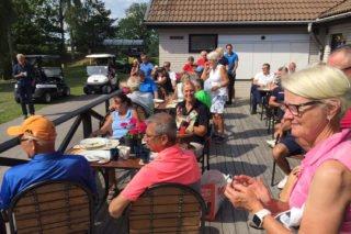 Prisutdelning Ica-golfen deltagare
